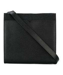 Valextra | Messenger Bag Calf Leather/Calf Suede