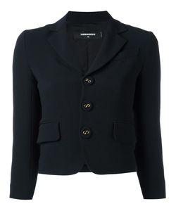 Dsquared2 | Cropped Jacket 44 Elastodiene/Acetate/Viscose/Polyester