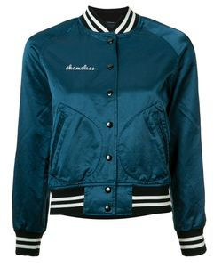 R13 | Shameless Bomber Jacket Large Cotton/Viscose