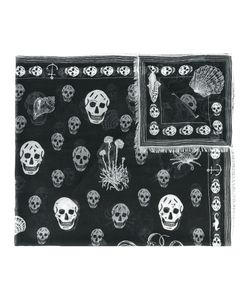 Alexander McQueen | Shipping And Skull Print Scarf
