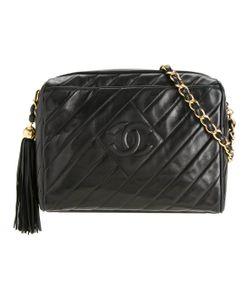 Chanel Vintage | Cc Quilted Fringe Shoulder Bag