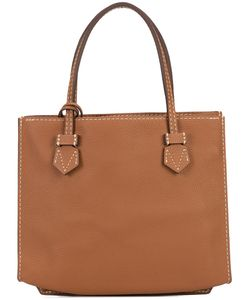 Moreau | Stitch Detail Square Shoulder Bag Women Goat