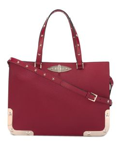 Red Valentino | Star Studded Tote Calf Leather/Metal Other
