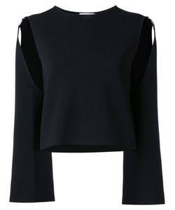 SCANLAN THEODORE | Trapeze Long Sleeved Top Medium Viscose