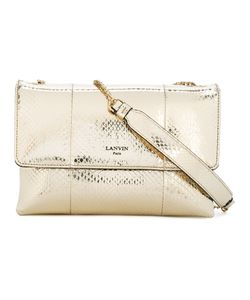 Lanvin | Sugar Shoulder Bag Cotton/Leather/Snake