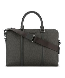 Michael Kors | Double Zip Briefcase Polyurethane/Leather