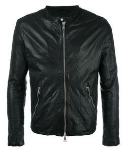 Giorgio Brato | Zip Up Jacket 50 Cotton/Leather/Nylon