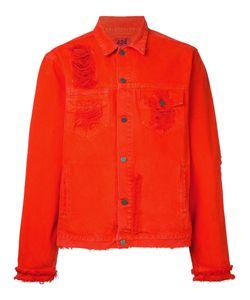 424 Fairfax   Рваная Джинсовая Куртка