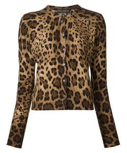 Dolce & Gabbana | Leopard Print Cardigan