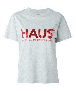 HAUS | Logo Print T-Shirt