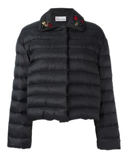 Red Valentino | Embroide Ladybird Puffer Kacket 44 Polyamide/Polyester/Fluorocarbon
