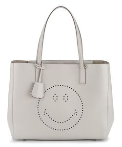 Anya Hindmarch | Smiley Face Tote Bag Leather/Suede