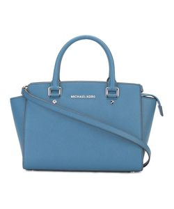 Michael Michael Kors | Selma Satchel Leather/Polyester/Metal