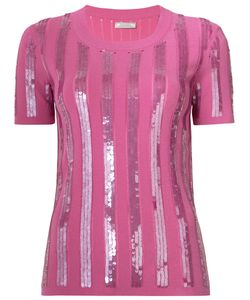 Nina Ricci | Embroidered T-Shirt L