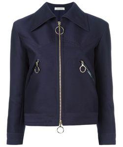 Nina Ricci | Zipped Spread Collar Jacket 40 Wool