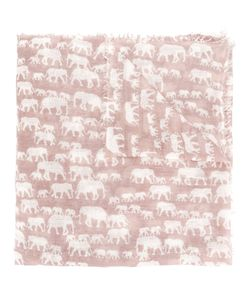 Hemisphere | Elephant Pattern Scarf Women One