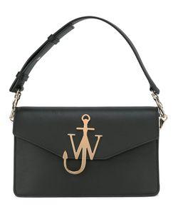 J.W. Anderson | J.W.Anderson W Plaque Shoulder Bag Calf Leather/Metal