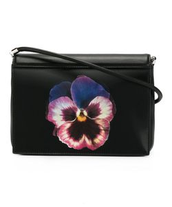 Christopher Kane | Pansy Print Crossbody Bag Leather/Plastic