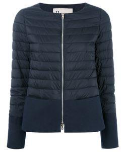 Herno | Zipped Padded Jacket 46 Cotton/Polyamide/Polyurethane