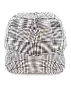 A.P.C. | Checked Baseball Cap Small Cotton/Virgin Wool