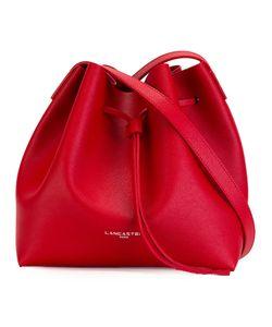Lancaster | Logo Print Shoulder Bag Calf Leather