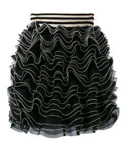 Alexander McQueen | Knitted Ruffle Mini Skirt Size Xs