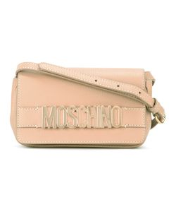 Moschino   Branded Cross Body Bag Leather/Metal Other