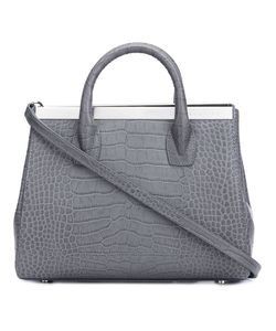 Thomas Wylde | Embossed Crocodile Effect Tote Calf