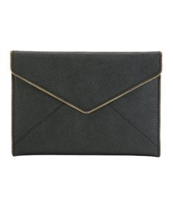 Rebecca Minkoff | Zip Trim Clutch Leather