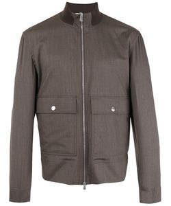 Brunello Cucinelli | Harrington Jacket 50 Silk/Virgin Wool/Cotton