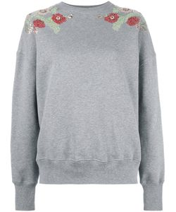 Alexander McQueen | Embellished Sweatshirt 40 Cotton