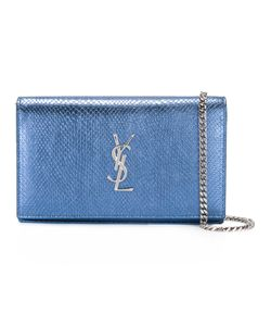 Saint Laurent | Monogram Chain Wallet Calf Leather