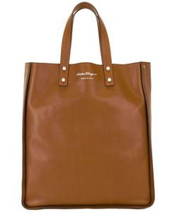 Salvatore Ferragamo | Rectangular Shopping Tote Bag