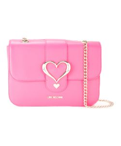 Love Moschino | Heart Buckle Shoulder Bag Polyurethane