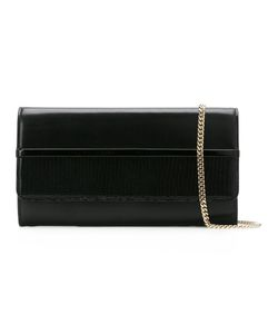 Lanvin | Embossed Tone Clutch Calf Leather/Cotton