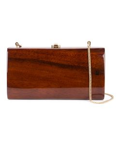 ROCIO | Anabelle Clutch Wood