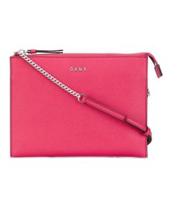 DKNY | Flat Top Zip Crossbody Bag