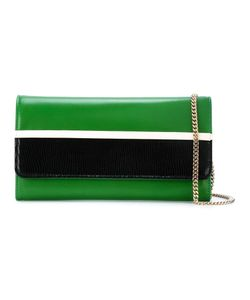 Lanvin | Colour Block Wallet Crossbody Bag Leather