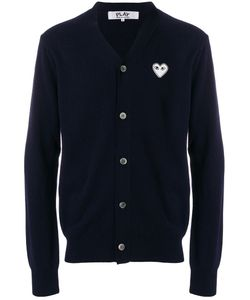 Comme des Gar ons Play | Embroidered Heart Cardigan Men