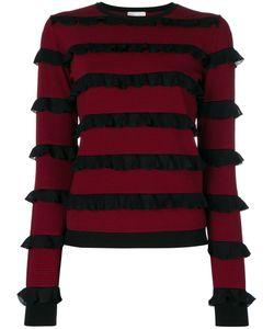 Red Valentino | Ruffled Detail Sweatshirt