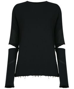 Andrea Bogosian | Cut Out Details Sweatshirt