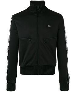 OFF-WHITE | Striped Sleeve Jacket Large Cotton/Polyester/Spandex/Elastane