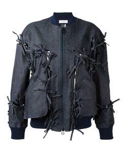 FACETASM   Tied Detail Bomber Jacket 1 Cotton/Polyurethane/Tencel