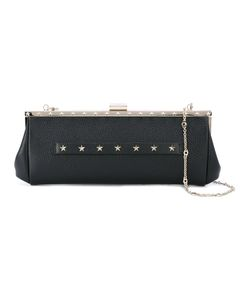 Red Valentino | Stars Studded Clutch Calf Leather