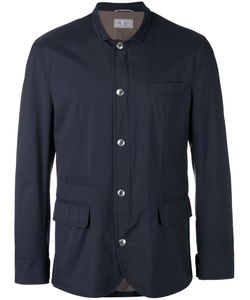Brunello Cucinelli | Buttoned Jacket 56 Cotton/Nylon