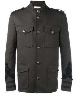 Ports   1961 Embroide Military Jacket 50 Cotton/Spandex/Elastane/Viscose