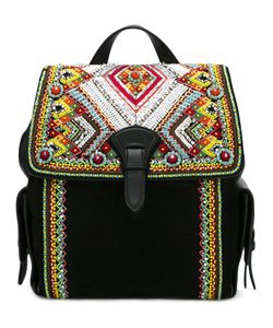 Roberto Cavalli | Bead Embellished Backpack Purse
