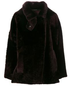 32 PARADIS SPRUNG FRERES | Fur-Lined Fitted Coat Women