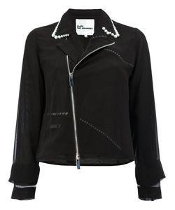 Comme Des Garçons Noir Kei Ninomiya | Pearls Collar Jacket