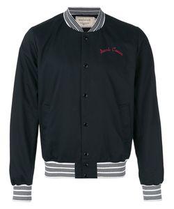 Maison Kitsune | Maison Kitsuné Embroidered Classic Bomber Jacket